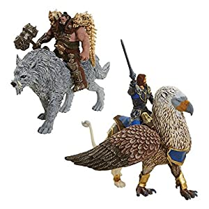 Warcraft - Set de 6 figuras Battle in a box de 6 cm (Jakks Pacific 96257 ) 5