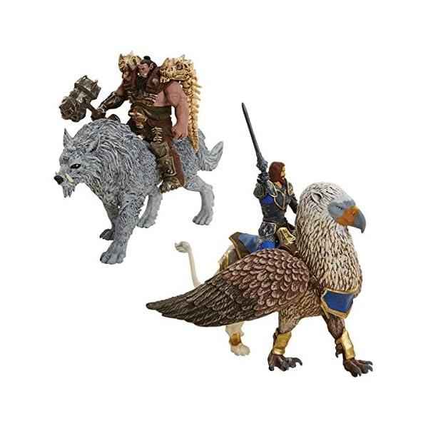 Warcraft - Set de 6 figuras Battle in a box de 6 cm (Jakks Pacific 96257 ) 1