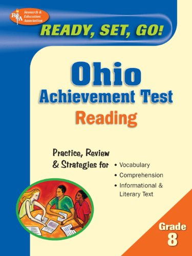 Ohio Achievement Test, Grade 8 Reading (Ohio Achievement Test Preparation) (English Edition) - Prep Test Ohio