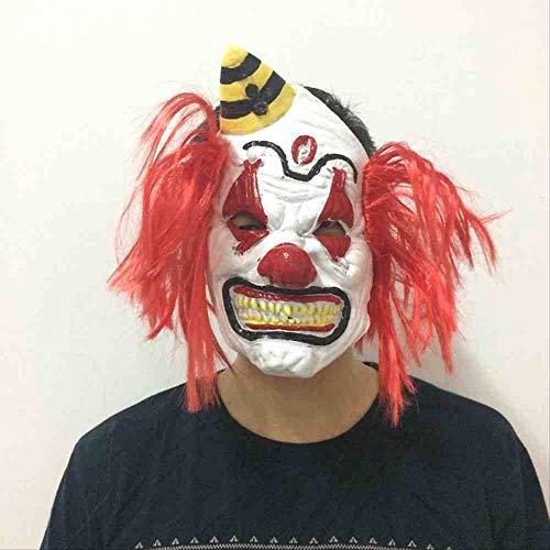 Redhead Kostüm - ZGWS Halloween New Redhead Clown Maske Lustige Clown Prop Grimasse Scary Kostüm Prom Maske