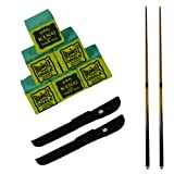 2 x 2 piece trade quality 48 inch snooker / pool cue