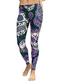 546234953e3 Cebbay Pantalones Yoga Mujeres Leggins de Fitness para Mujer Liquidación  Pantalones Chandal Deportivos con Estampado de