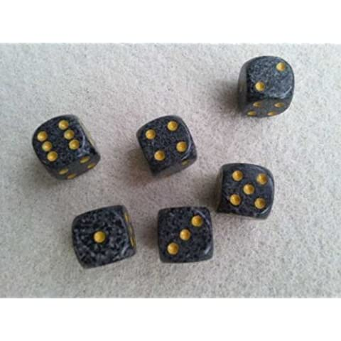 CHESSEX 6 sided dice / dice Speckled 16mm d6 (6-sided) Urban Camo 6 pieces (japan import)