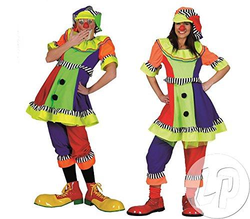 Pierro´s Kostüm Clown Dame Pierina Größe 44/46