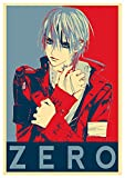 """Poster Vampire Knight """"Propaganda"""" Zero - Formato A3 (42x30 cm)"""