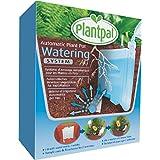 Regador automático Plantpal para plantas en macetas que convierte a cualquier maceta en una que riega a la planta por sí misma a través de un sistema de riego de vacaciones (Medio Plantpal aire libre).