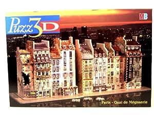 PUZZ 3D - Paris Quai de Megisserie - Reproduction fidele