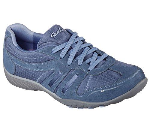 Skechers Breathe Easy Jackpot, Sneakers Basses femme blue