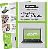 dipos I 2X Schutzfolie matt passend für Acer Chromebook 11 N7 Folie Bildschirmschutzfolie