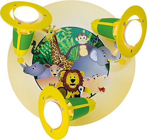 dschungel lampe Elobra Strahler Rondell Dschungel, 3 flammig ELO-127551