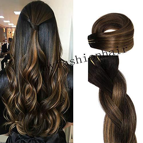 Clip in Haarverlängerungen Remy Haar Echthaar 20