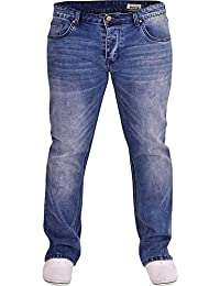 Duck and Cover Men s Bootcut Flared Wide Bottom Loose Fit Denim Jeans 819a672d240c