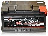 Autobatterie 12 V 110 Ah 950A/EN BlackMax KFZ PKW Batterie