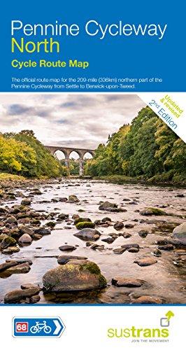 Pennine Cycleway North: Sustrans Cycle Map por Sustrans