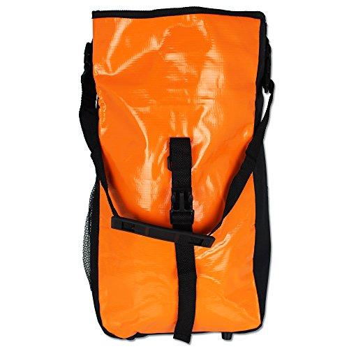 Fahrradtasche - Gepäckträgertasche - Fahrradtasche World Tramp mit Farbauswahl Orange