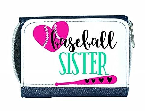 Baseball Sister Bat And Ball Sports Ladies Purse -