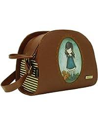 Gorjuss Brought Love Shoulder Bag - Embossed Rococo