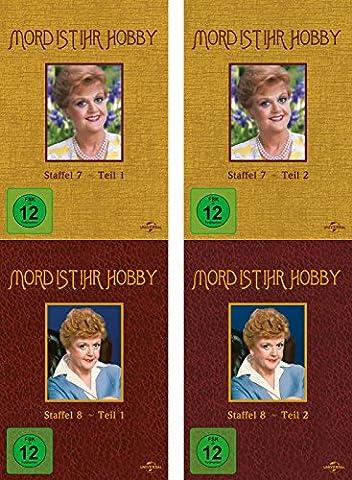 Mord ist ihr Hobby - Staffel 7 + 8 (7.1 - 8.2) im Set - Deutsche Originalware [12 DVDs]
