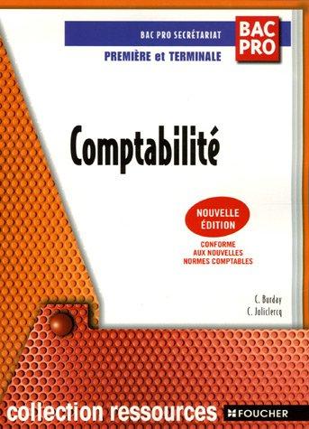 Comptabilité Bac Pro Secrétariat 1e et Tle