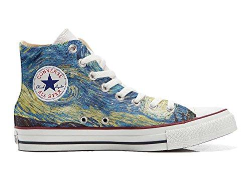 Converse Customized Chaussures Coutume (produit artisanal) Van Gogh 2