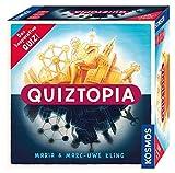KOSMOS - Quiztopia - Gemeinsam gegen das Spiel, das kooperative Quiz von Marc-Uwe Kling....