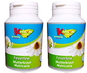 KinwaNatura Grande Camomille 60 mg, 0,3 % Parthénolide, 2x120 capsules