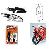 Paar LED Motorrad Blinker Licht 12V Blinker Universal Lampa Triumph Rocket 2294III 2004–2010