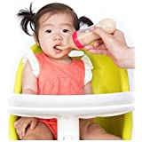 WonderKart Silicone Squeeze Feeder With Spoon And Hygienic Cover - Color May Vary