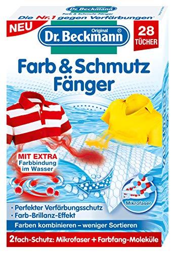 Dr. Beckmann Farb & Schmutzfänger | langanhaltender Farbschutz | mit Mikrofaser und Farbfangmolekülen für Farbbrillianz (28 Tücher)