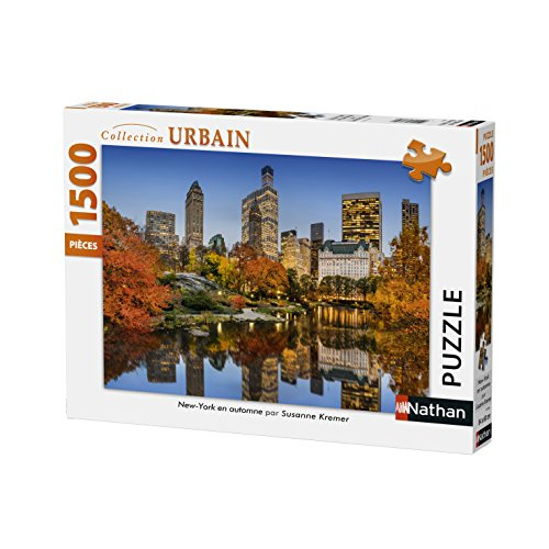 Nathan Puzzle New York im Herbst 1500 Teile, 87788