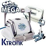 Robot limpiafondos eléctrico piscina dolphin maytronics Mega M-Line
