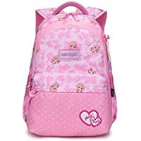 Reelay mee Nylon Fabric Light Weight, Fascinating Pink Day-Trip/School Backpack (19 L) - 8198