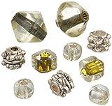 Best Cousin Bracelets - Cousin 3144-704 Bracelet Blends Beads, Mix Khaki, Bicone Review