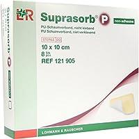 SUPRASORB P PU-Schaumv.10x10 cm nicht klebend 8 St preisvergleich bei billige-tabletten.eu