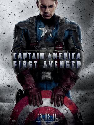 CAPTAIN AMERICA FIRST AVENGER - FRENCH - Imported Movie Wall Poster Print - 30CM X 43CM Brand New CHRIS EVANS