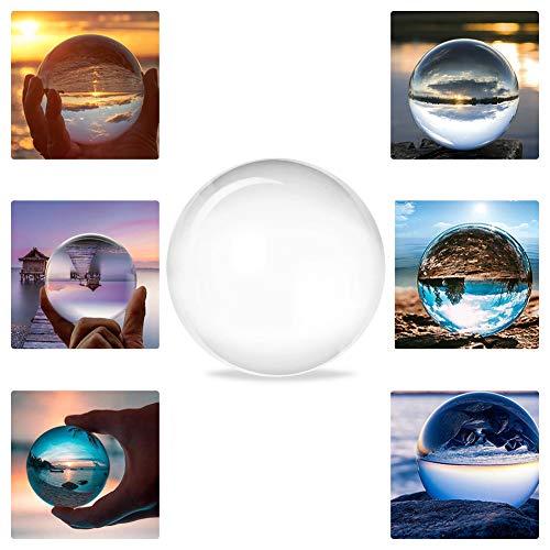 80mm Clear Crystal Ball Kunst Dekor K9 Kristall Prop Fotografie Ball für Kunst Dekorationen Fotografie Geschenk