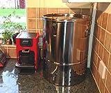 Composteur à lombrics en acier inoxydable, pour usage...