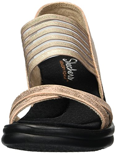 Skechers Damen Rumblers-glam Society Slingback Sandalen Rosa (oro Rosa)