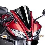 Puig Racingscheibe Yamaha YZF-R 125 08-16 Schwarz