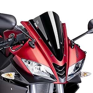 Bulle Racing Puig Yamaha YZF-R 125 08-16 noir