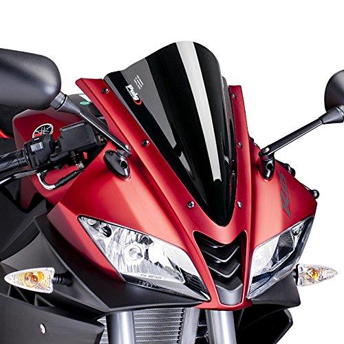 Puig 4637N Racing-Fronteinsatz für Yamaha YZF-R125 08-17 Zoll, schwarz