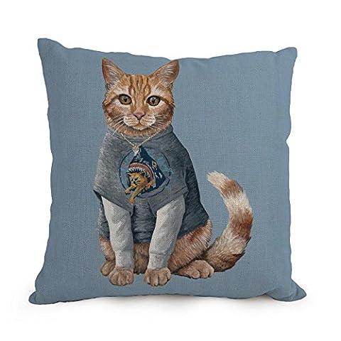 Artistdecor Taie d'oreiller de chat, pour le bureau, canapé, pub, salle de jeux, Monther, adolescents Filles 30,5x 50,8cm/30par 50cm (Twin