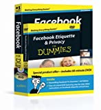 Facebook For Dummies, Book + DVD Bundle by Leah Pearlman (2010-10-26)
