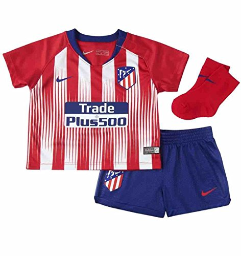 Nike ATM I NK BRT Kit HM - Camiseta 1ª equipación Atlético de Madrid 18- 814219f37287a