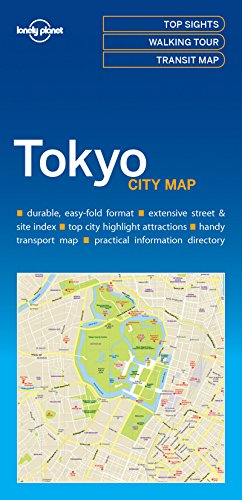 Lonely Planet Tokyo City Map por Lonely Planet