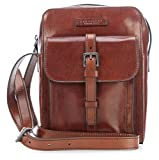The Bridge The Bridge Byron Herrentasche Rindleder 27 cm Marrone
