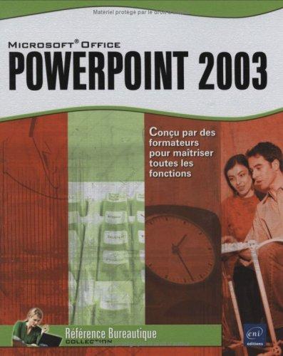 PowerPoint 2003 par Collectif