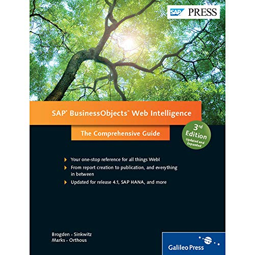 SAP BusinessObjects Web Intelligence: The Comprehensive Guide (SAP PRESS: englisch)