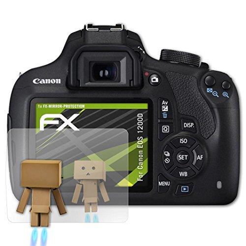 kompatibel mit Canon EOS 1200D / Rebel T5 Spiegelfolie, Spiegeleffekt FX Schutzfolie ()