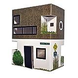 Casagami usa- Haus Karton zu färben und montieren–Beleuchtung Solar LED–Nachhaltige Entwicklung–Fab. Frankreich